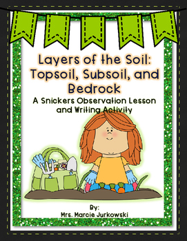 Layers of Soil: Topsoil, Subsoil, and Bedrock: A Snickers Observation Lesson
