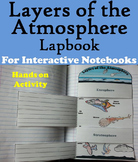 Layers of the Atmosphere Activity Interactive Notebook Foldable