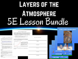 Layers of the Atmosphere 5E Lesson Bundle