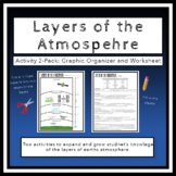 Layers of the Atmosphere Activity 2-Pack