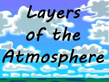 Layers of the Atmosphere- Educational Rap