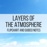 Layers of the Atmosphere Flipchart and Guided Notes