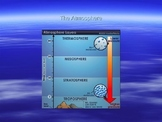 PowerPoint:  Layers of the Atmosphere