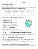 Layers of the Atmosphere QUIZ!!!