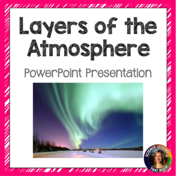 Layers of the Atmosphere SMART notebook presentation