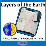 Layers of the Earth Brochure Activity