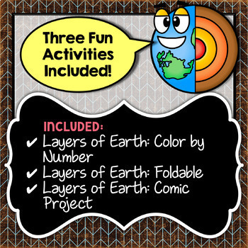 Layers of the Earth Bundle - Save Over 30%