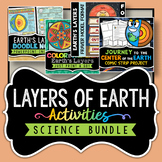 Layers of the Earth Activities - Bundle - Save Over 30%