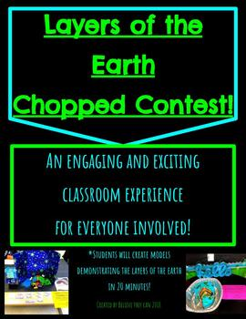 Layers of the Earth Chopped Challenge