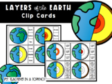 Layers of the Earth Clip Cards