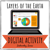 Layers of the Earth Digital Activity (TEKS) for Google and