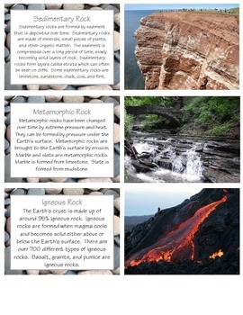 Layers of the Earth & Earth Science Studies