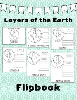 Layers of the Earth Flipbook
