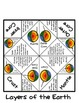 Layers of the Earth Fortune Teller and Crossword