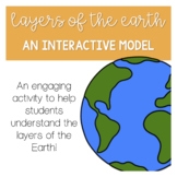 Layers of the Earth Interactive Model