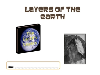Layers of the Earth Power Point 2nd Grade Earth Science