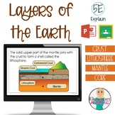 Layers of the Earth Presentation - 5E Model Explain