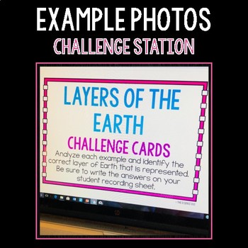 Layers of the Earth - S.C.I.E.N.C.E. Stations