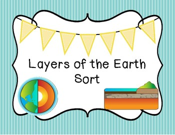 Layers of the Earth Sort