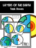 Layers of the Earth Task Boxes