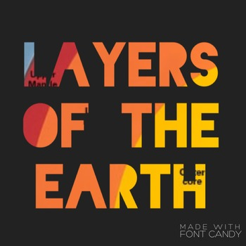 Layers of the Earth Test