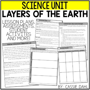 Layers of the Earth Unit