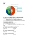 Layers of the Earth - Worksheet | Distance Learning