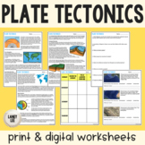 Layers of the Earth and Plate Tectonics Review