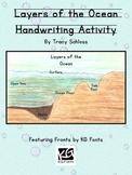 Layers of the Ocean Handwriting