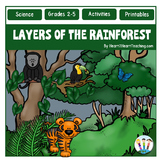 Layers of the Rainforest Unit & Flip Up Book