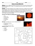 Layers of the Sun Foldable Research Activity