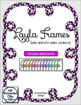 Layla Frame Collection - 14 colors!