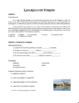 Lazarillo de Tormes Excerpts and Questions: Intermediate Level
