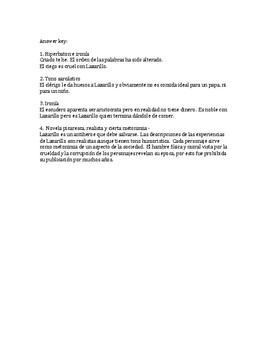 Lazarillo de Tormes, Mystery Quotes Protocol