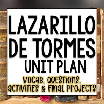 Lazarillo de Tormes Lesson Plans Unit Plans in Spanish