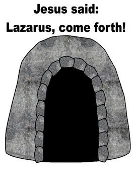Lazarus Lives! Lift-the-Flap