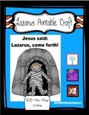 Lazarus Lives! Lift-the-Flap