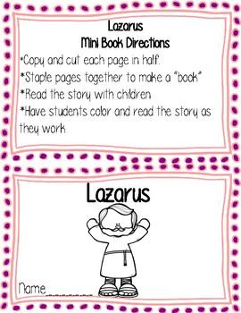 Lazarus Mini Book