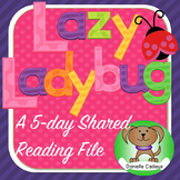Lazy Ladybug Shared Reading Kindergarten/1