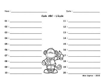 Code ABC - L'école