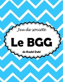 Le BGG Board Game Project - Novel Study (*FRENCH*)