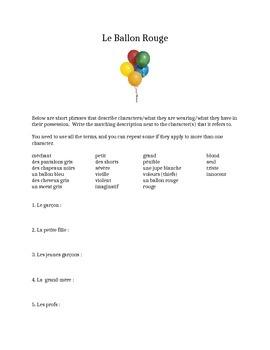 Le Ballon Rouge Questions