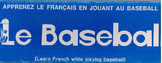 Le Baseball Apprenez le français en jouant au baseball game