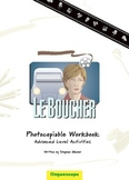 'Le Boucher' Photocopiable Workbook (Advanced Level Activities)