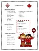 Le Canada  create a french poster Ontario French writing speaking activity