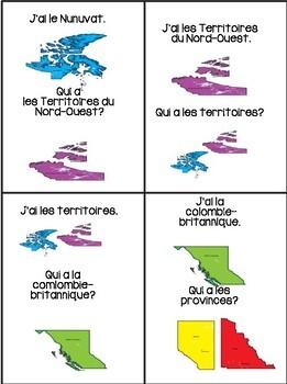 Le Canada - J'ai...Qui a?