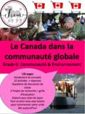 Le Canada dans la communauté globale, Sciences sociales, Gr.6, 132 slides