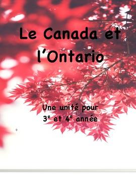 Les régions physiques du Canada et en Ontario