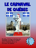 Le Carnaval De Quebec Ontario Grade 5 French Culture