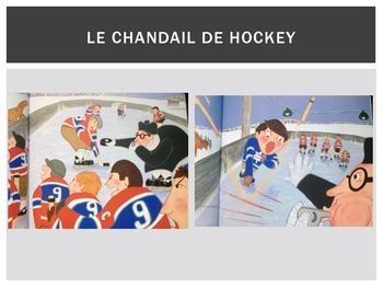 Le Chandail de Hockey Lesson Sequence